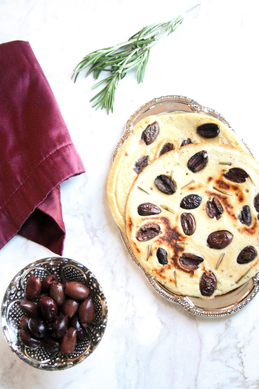 Olive GF Flatbread